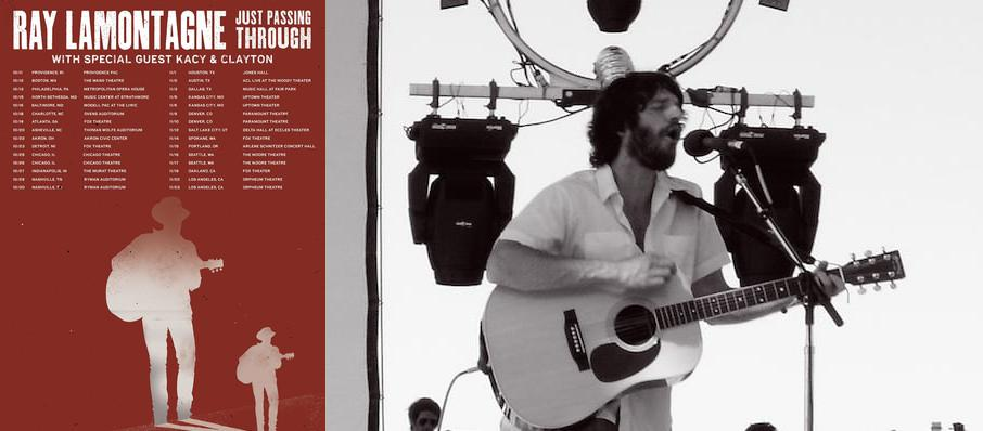 Ray LaMontagne at Ovens Auditorium