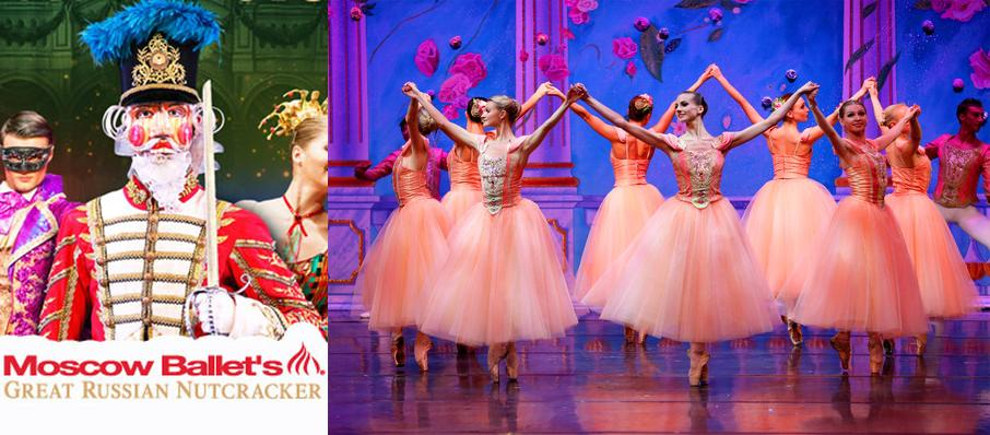 Moscow Ballet's Great Russian Nutcracker at Ovens Auditorium