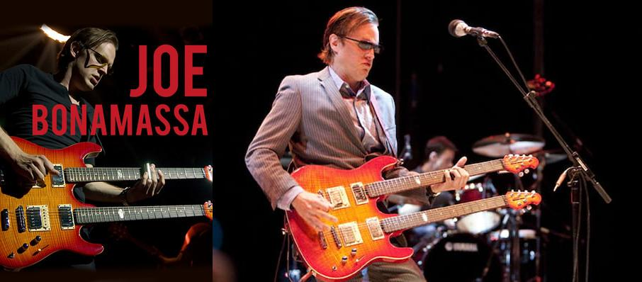 Joe Bonamassa at Belk Theatre
