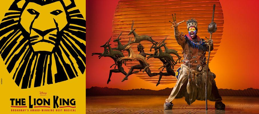 The Lion King at Belk Theatre
