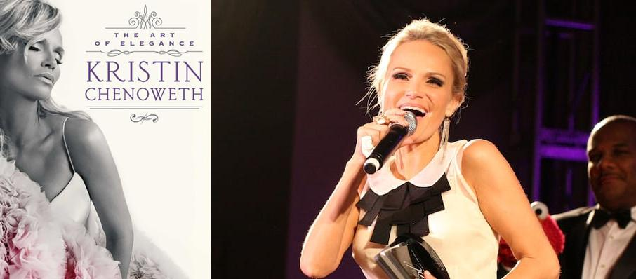Kristin Chenoweth at Belk Theatre