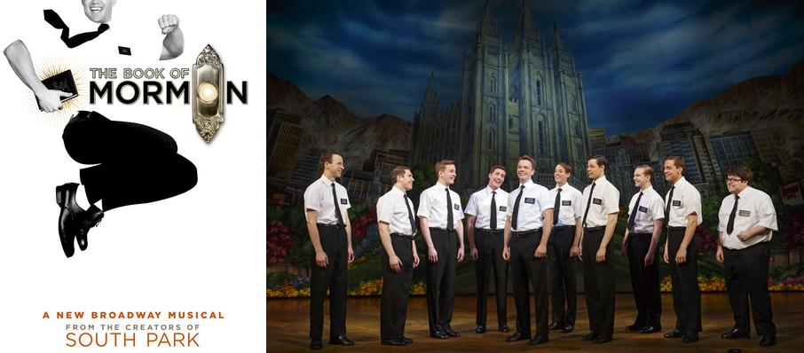 The Book of Mormon at Belk Theatre