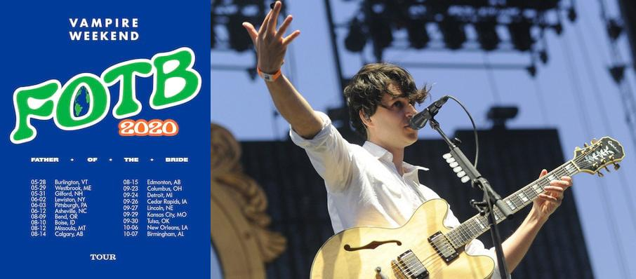 Vampire Weekend at Charlotte Metro Credit Union Amphitheatre