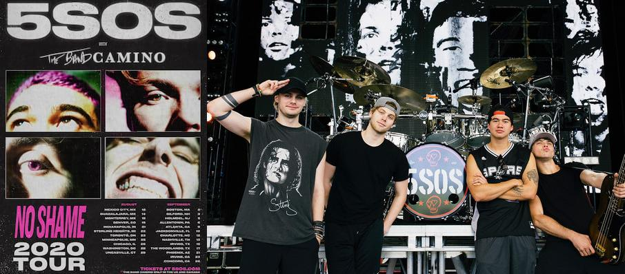 5 Seconds of Summer at Charlotte Metro Credit Union Amphitheatre