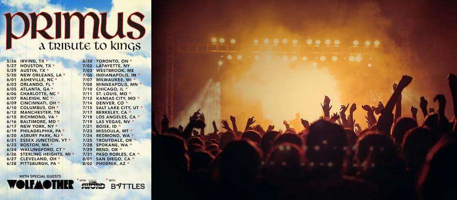 Primus at Charlotte Metro Credit Union Amphitheatre