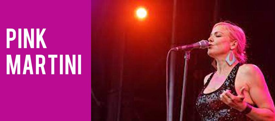 Pink Martini at Belk Theatre
