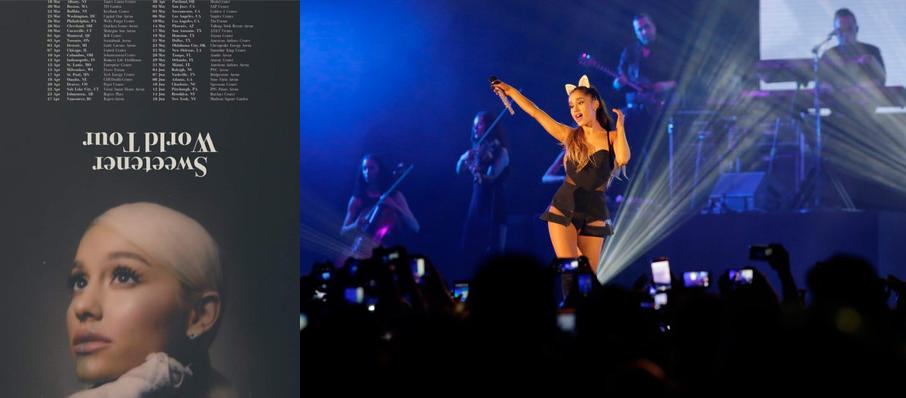 Ariana Grande at Spectrum Center
