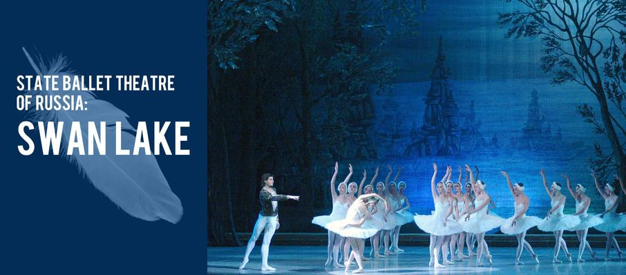 State Ballet Theatre of Russia: Swan Lake at Knight Theatre