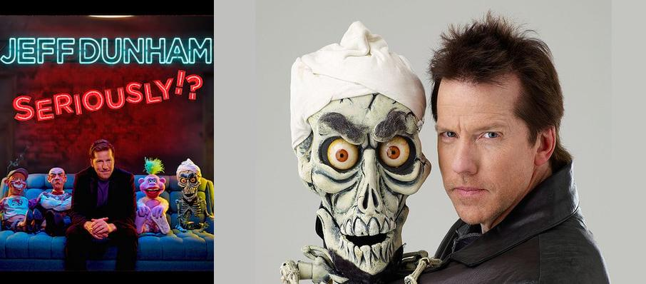 Jeff Dunham at Spectrum Center