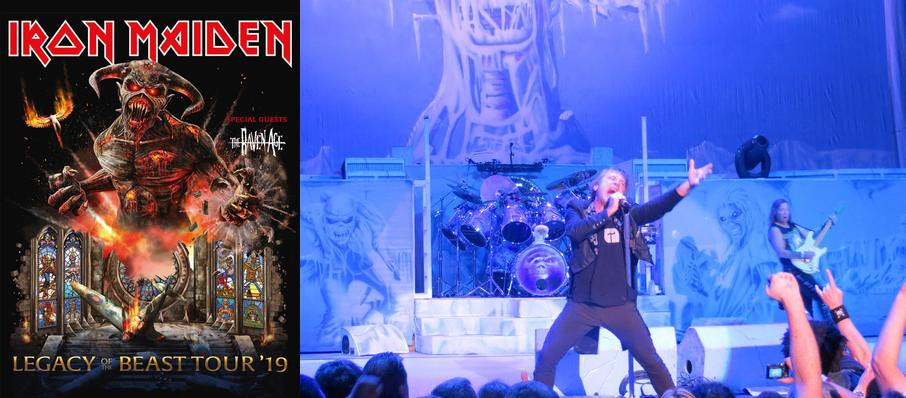 Iron Maiden at PNC Music Pavilion