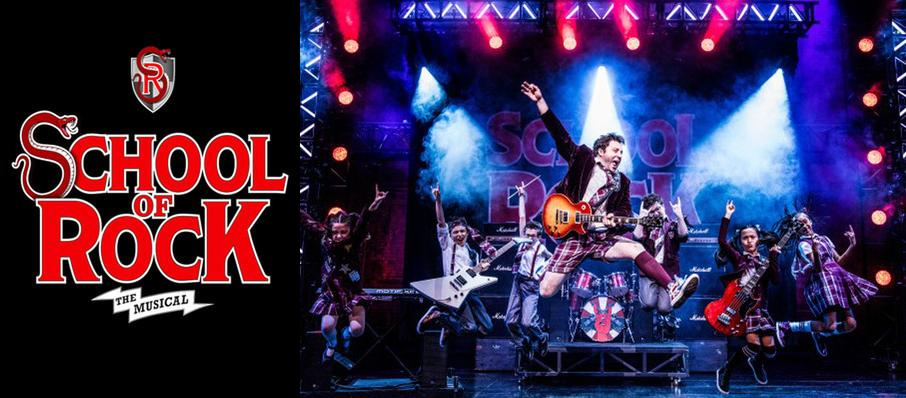 School of Rock at Ovens Auditorium