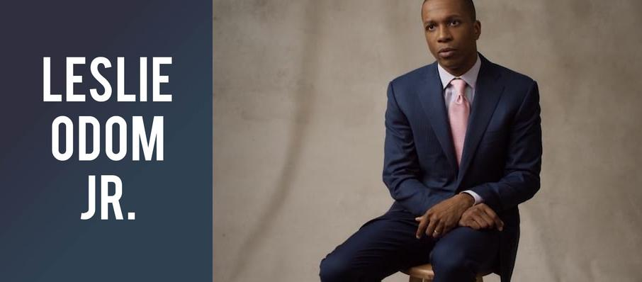 Leslie Odom Jr. at Belk Theatre