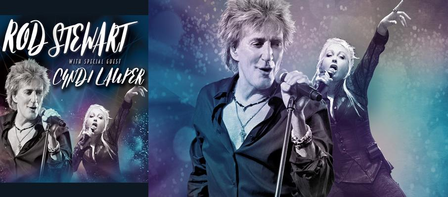 Rod Stewart and Cyndi Lauper at Spectrum Center