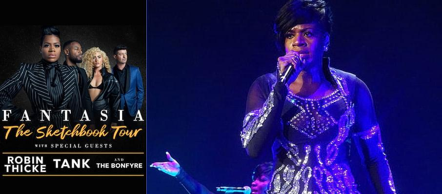 Fantasia Barrino at Bojangles Coliseum