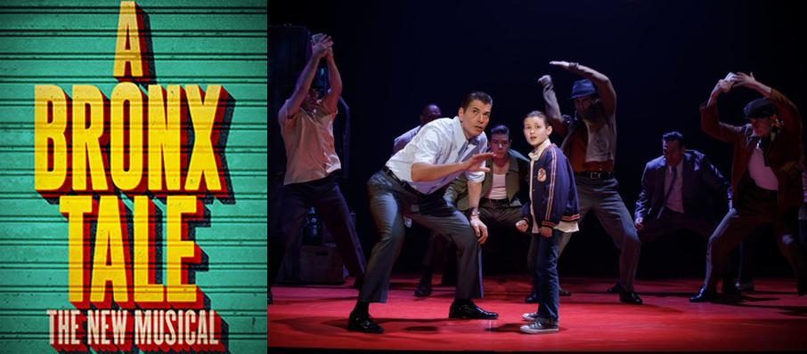 A Bronx Tale at Ovens Auditorium