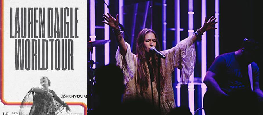 Lauren Daigle at Ovens Auditorium