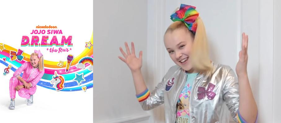 Jojo Siwa at Ovens Auditorium