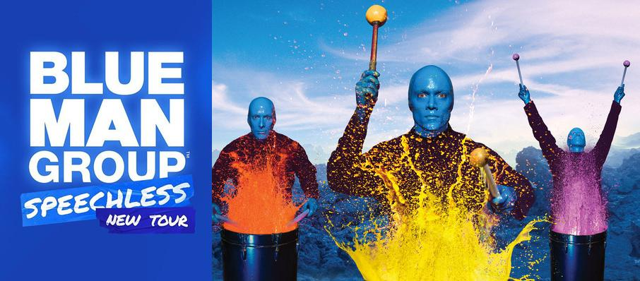 Blue Man Group at Ovens Auditorium