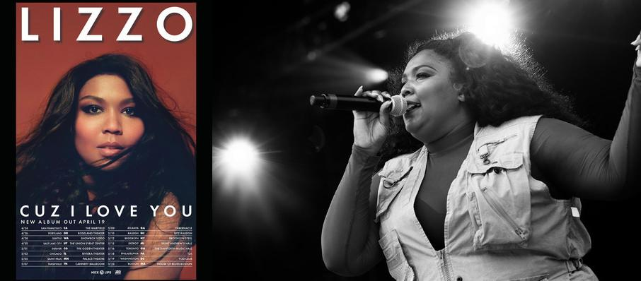 Lizzo at Charlotte Metro Credit Union Amphitheatre