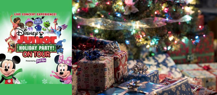 Disney Junior Holiday Party at Belk Theatre
