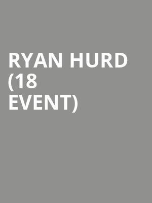 Ryan Hurd (18+ Event) at Coyote Joes