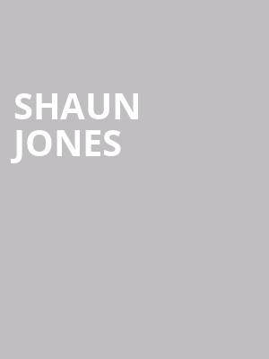 Shaun Jones at The Comedy Zone
