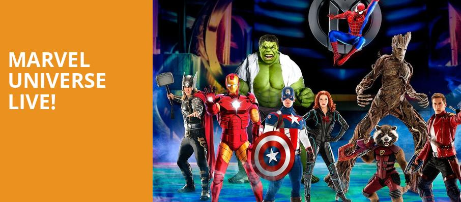 Marvel Universe Live, Spectrum Center, Charlotte