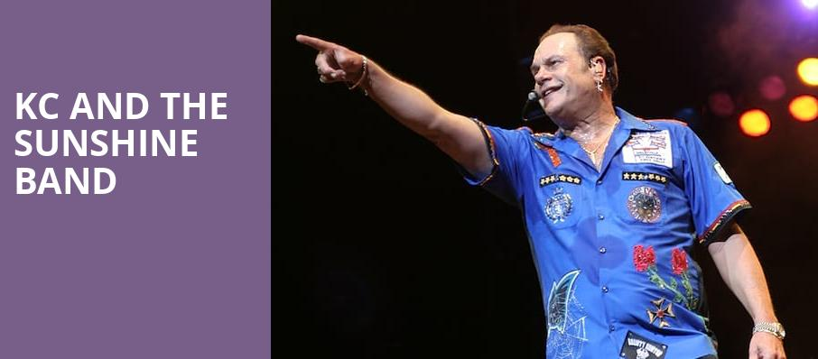 KC and the Sunshine Band, Ovens Auditorium, Charlotte