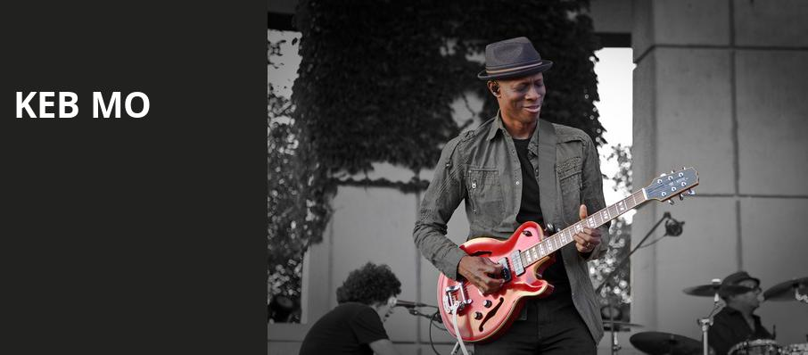 Keb Mo, Mcglohon Theatre at Spirit Square, Charlotte