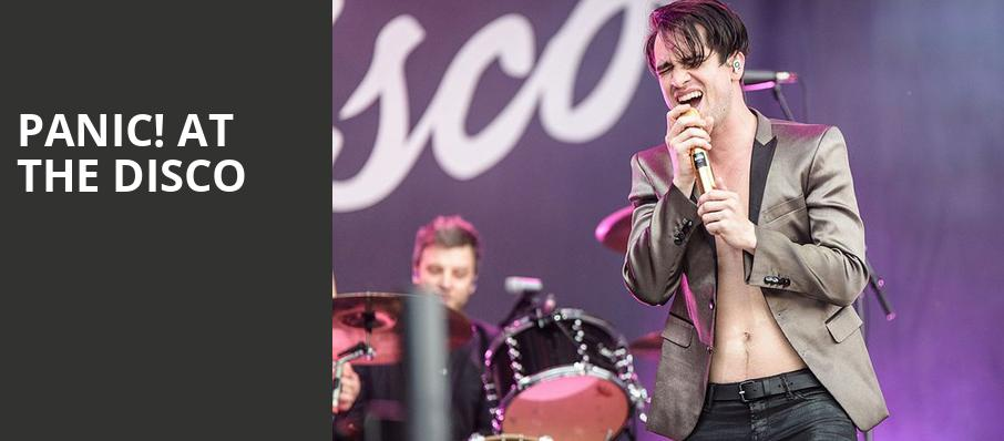 Panic at the Disco, Spectrum Center, Charlotte