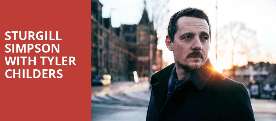Sturgill Simpson With Tyler Childers, Spectrum Center, Charlotte