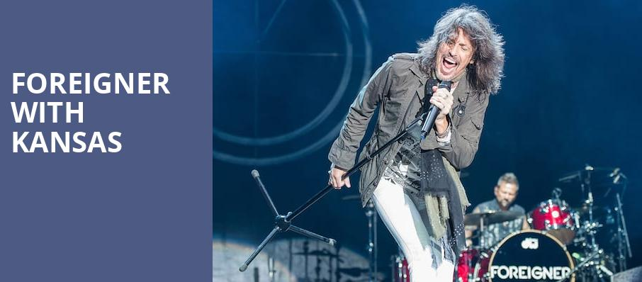 Foreigner with Kansas, PNC Music Pavilion, Charlotte