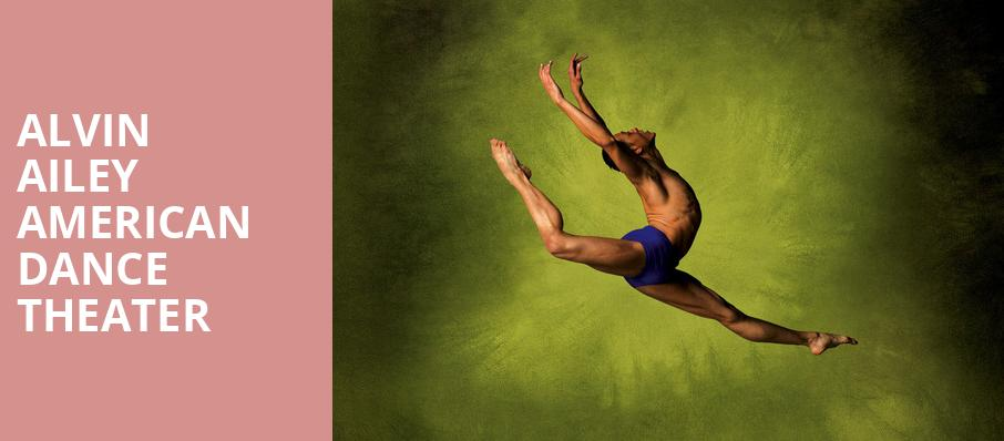 Alvin Ailey American Dance Theater, Belk Theatre, Charlotte