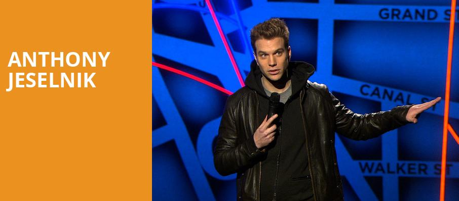 Anthony Jeselnik, Knight Theatre, Charlotte
