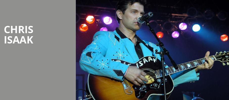 Chris Isaak, Knight Theatre, Charlotte