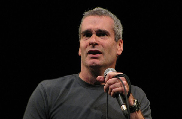 Henry Rollins, Mcglohon Theatre at Spirit Square, Charlotte