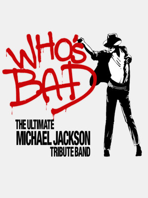 Who's Bad - Michael Jackson Tribute Band Poster