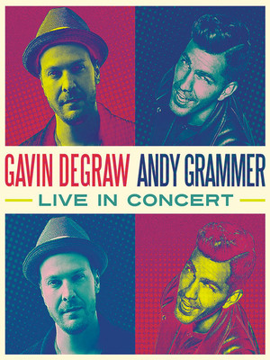 Gavin DeGraw & Andy Grammer Poster