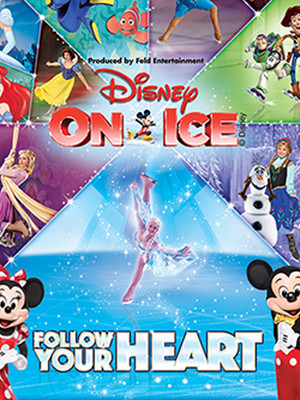 Disney on Ice Follow Your Heart, Time Warner Cable Arena, Charlotte